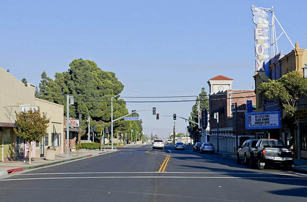 Downtown Banning looking east 2017