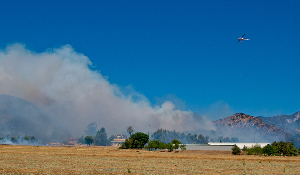 Gilman Ranch Barn  Fire
