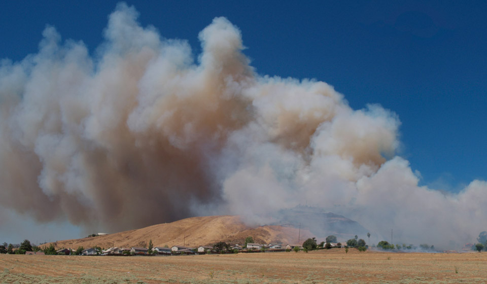 Gilman Ranch Fire