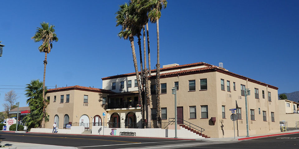 Downtown Banning - Historic Banning Hotel