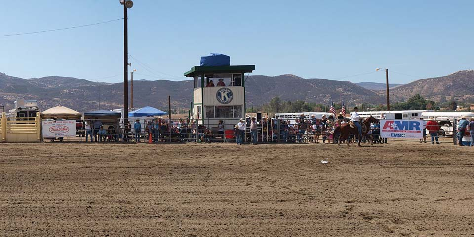 South Banning Dysart Equestrian Park Rodeo