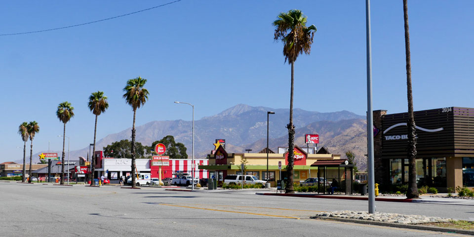West Banning Business Fastfood Row Ramsey